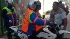 Incidente con un inspector de tránsito en Tucumán 20210720