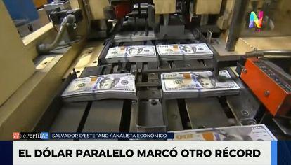 """Salvador Di Stefano: """"El dólar sube porque el Gobierno gasta más de lo que le ingresa"""""""