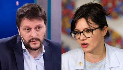 Leandro Santoro y Gisella Marziotta
