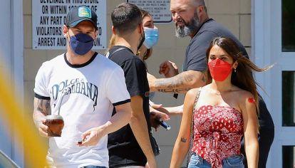 Messi y Antonela Roccuzzo en Miami: todos los detalles de su vacunación