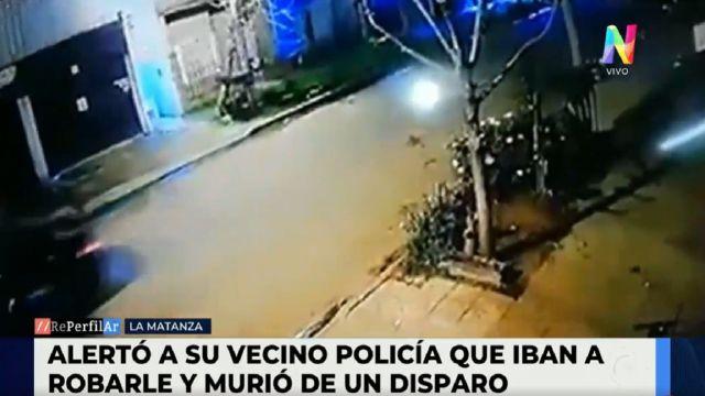 Alertó a su vecino que lo estaban por asaltar y murió de un balazo