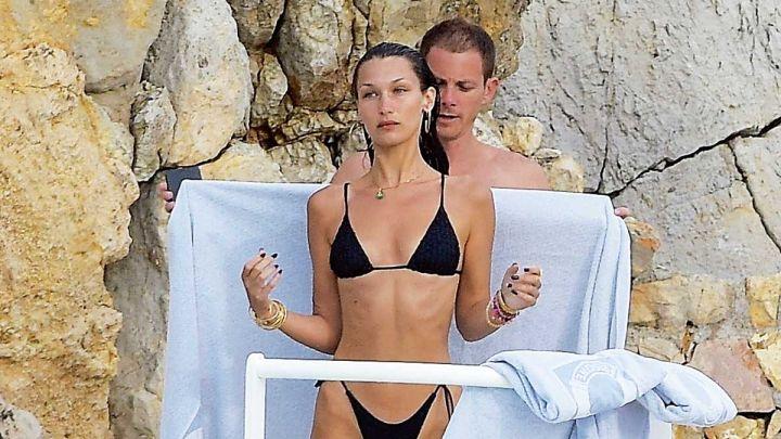 """Bella Hadid """"In love"""" en Antibes: ¿Quién es el hombre que la acompaña?"""