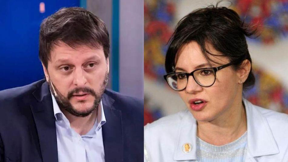 Leandro Santoro y Gisella Marziotta 20210720