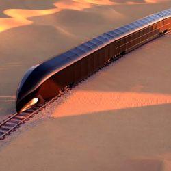 El tren ha sido diseñado por Thierry Gaugain, creador de yates de estilos futuristas