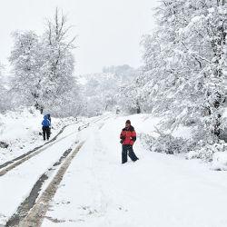 El Parque de Nieve en Trevelin, Chubut, combina turismo con identidad y cultura ancestrales.