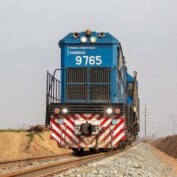 Aumentó el transporte de cargas por trenes.