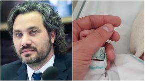 """Santiago Cafiero fue padre por cuarta vez: """"Bienvenida Julia"""""""
