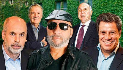 Rodríguez Larreta - Juan Schiaretti - Guillermo Seita - Ricardo Lorenzetti
