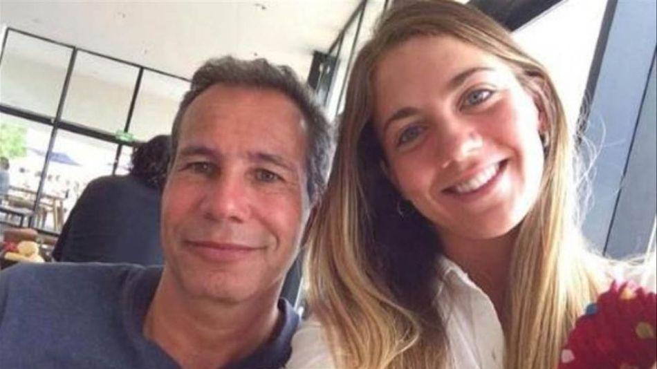 Florencia Cocucci con Alberto Nisman  20210721