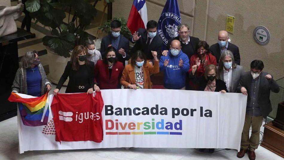 Aprobación del matrimonio igualitario en el Senado de Chile-20210721