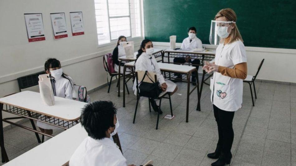 Presencialidad escuelas