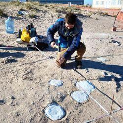 Los huellos hallados datan del período Cretácico, que tuvo lugar hace unos 85.000.000 de años.