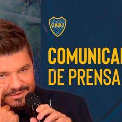 Marcelo Tinelli - Comunicado de Boca Juniors   Foto:cedoc