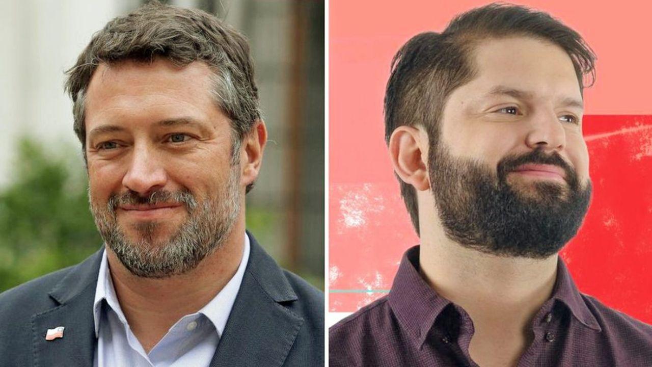 Sichel y Boris, la renovación de la política chilena.  | Foto:CEDOC