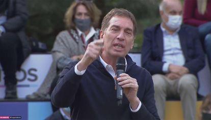 Acto de Diego Santilli en La Plata