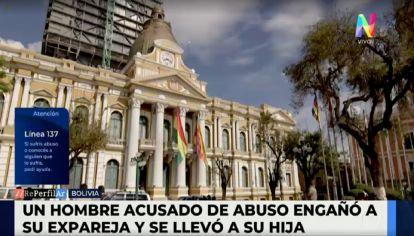 Un hombre acusado de abuso engaño a su expareja y se llevó a su hija a Bolivia