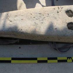 Los investigadores también encontraron métodos tradicionales de construcción de barcos egipcios y madera reutilizada