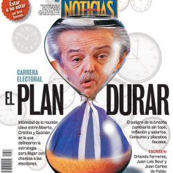 Tapa Nº 2326: Carrera electoral, el plan durar | Foto:Pablo Temes