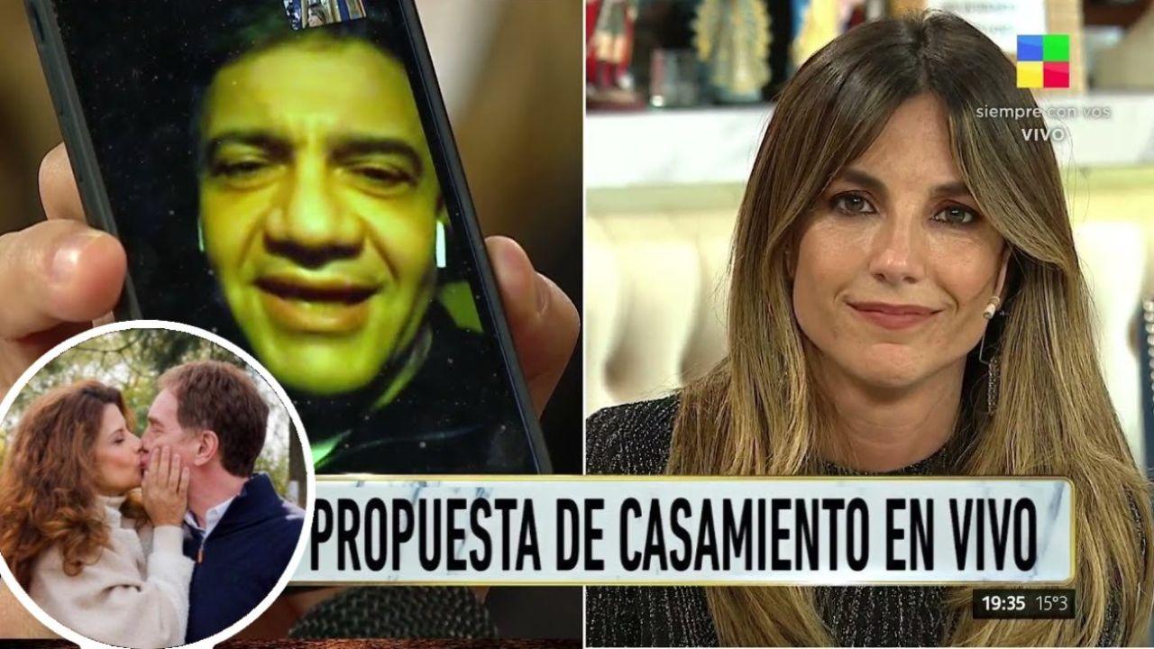 La propuesta de Macri y el beso de Santilli y Maiorana.  | Foto:CEDOC