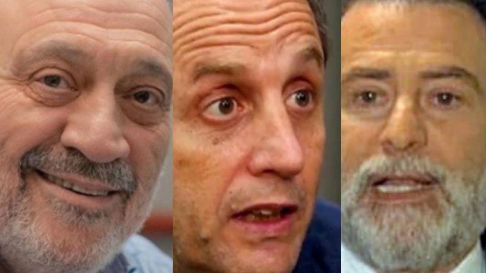 Alfredo Leuco, Ernesto Tenembaum y Reynaldo Sietecase 20210723
