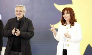 Alberto Fernandez Acto Frente de todos