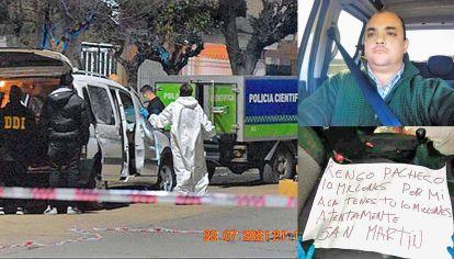 Víctima. González vivía en San Miguel y prestaba servicio en la DUOF de la Policía Federal. En el asiento de acompañante de su camioneta Peugeot Partner hallaron el mensaje mafioso escrito con fibra roja.