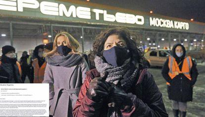 Desde Rusia. Nicolini y Vizzotti en Rusia después de negociar la llegada de vacunas a la Argentina.