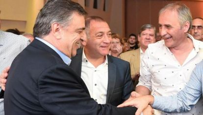 OTROS TIEMPOS. En 2019, Negri, Juez y Baldassi estaban en una misma lista. Ahora, el radical y el exintendente se enfrentarán.