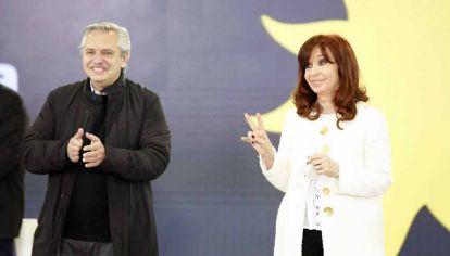 Alberto Fernandez en la presentación de candidatos de Frente de Todos