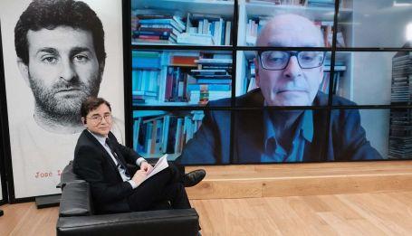 Loris Zanatta, en la entrevista con Jorge Fontevecchia.