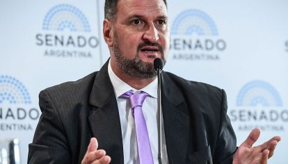Luis Tagliapietra, abogado y padre de una de las 44 víctimas del submarino ARA San Juan.