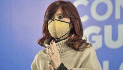 """Oposición. """"En realidad, odian a los argentinos"""", dijo CFK."""