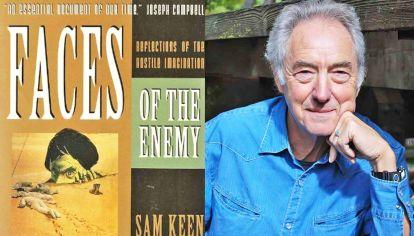 Obra. En 1986, se publicó Los rostros del enemigo, reflejos de la imaginación hostil de Sam Keen.