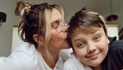 Nazarena Vélez habló sobre el problema de salud que tiene su hijo Thiago
