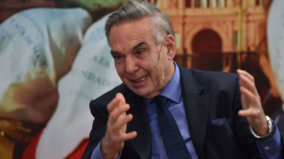 Miguel Angel Pichetto, en la entrevista con Jorge Fontevecchia