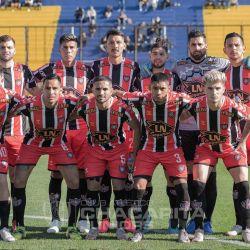 Los once de Chacarita Juniors que le ganaron el clásico a Atlanta por 3 a 0.