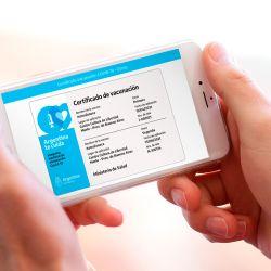 Certificado digital de vacunación contra el Covid-19 | Foto:argentina.gob.ar