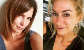 Úrsula Vargues y Yanina Latorre