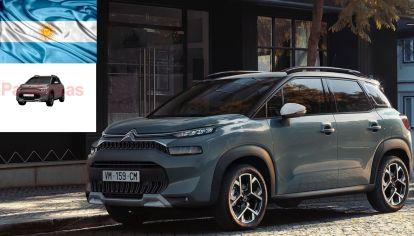 Citroën registró el nuevo C3 Aircross en Argentina