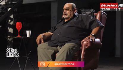 """El oscuro pasado de Roly Serrano y su adicción a las drogas: """"Estuve a punto de tirarme al río"""""""