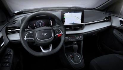 Así es el interior del Pulse, el nuevo SUV compacto de Fiat
