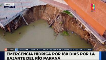 Preocupa la bajante del Paraná
