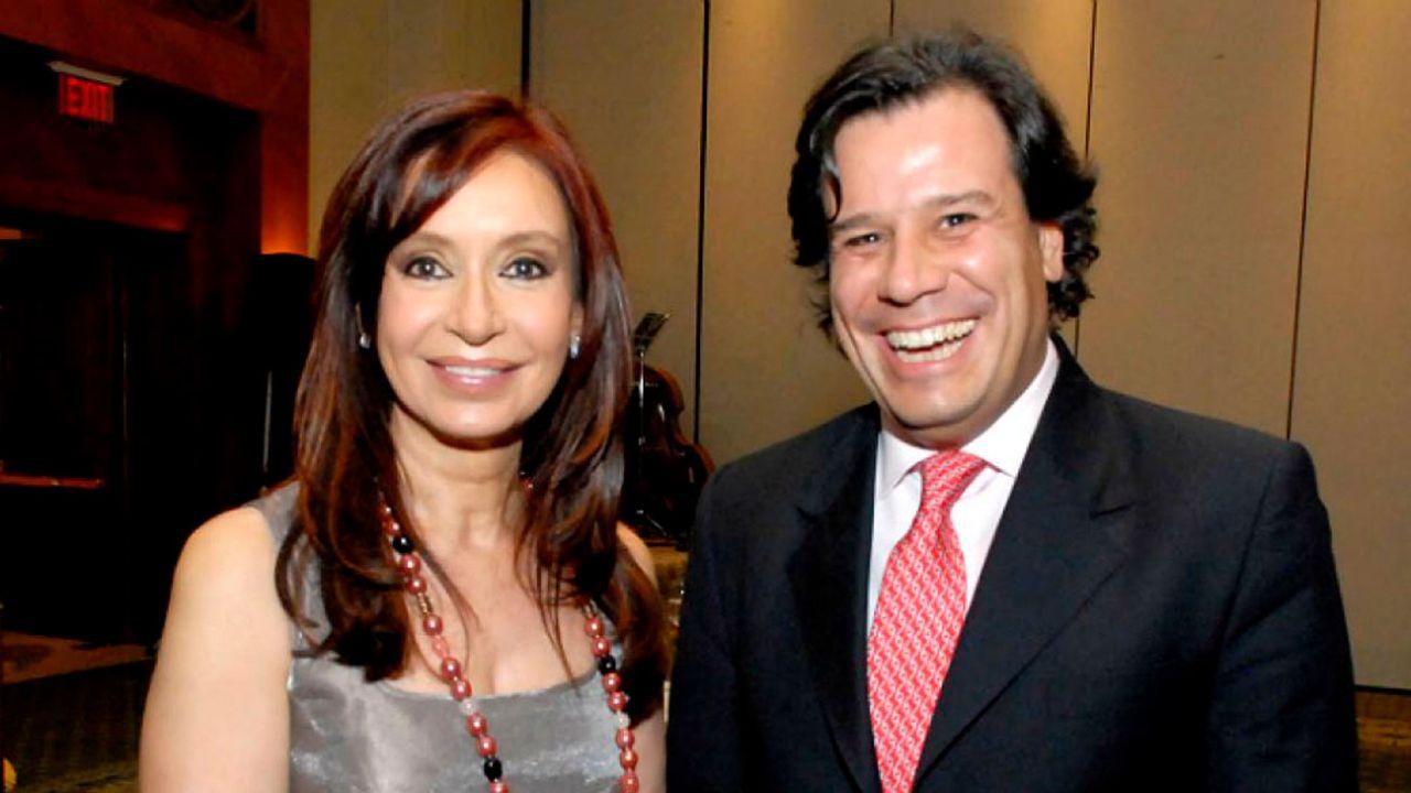Cristina Kirchner con Facundo Manes   Foto:cedoc
