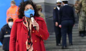 Health Minister Carla Vizzotti
