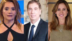 Nancy Pazos, Diego Santilli y Victoria Tolosa Paz