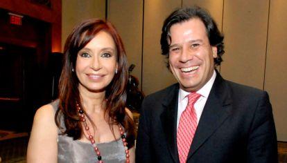 Cristina Kirchner y Facundo Manes