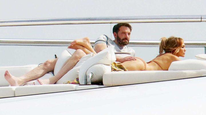 J Lo y Ben Affleck: así fue el íntimo festejo de su cumpleaños en un lujoso yate