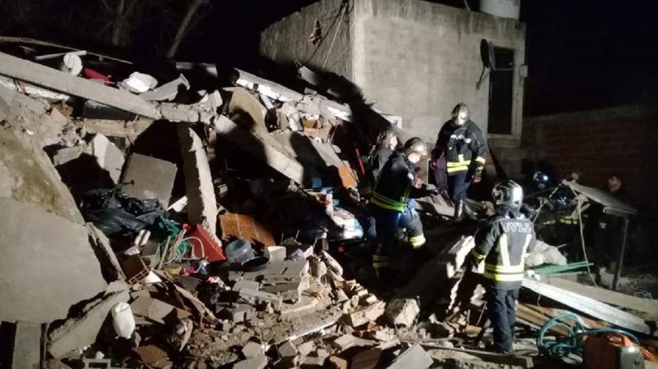 Derrumbe en Lomas de Zamora