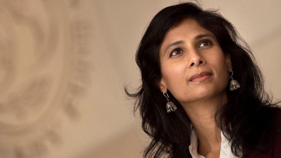 Gita Gopinath en el FMI 20210727
