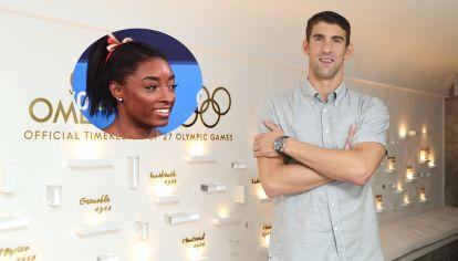 El mítico ex nadador Michael Phelps respaldó a Simone Biles, la gimnasta más galardonada en la historia de Estados Unidos.